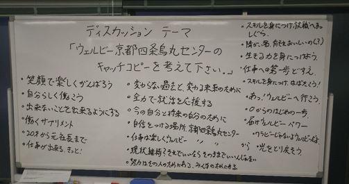 【京都】ディスカッションでキャッチコピー