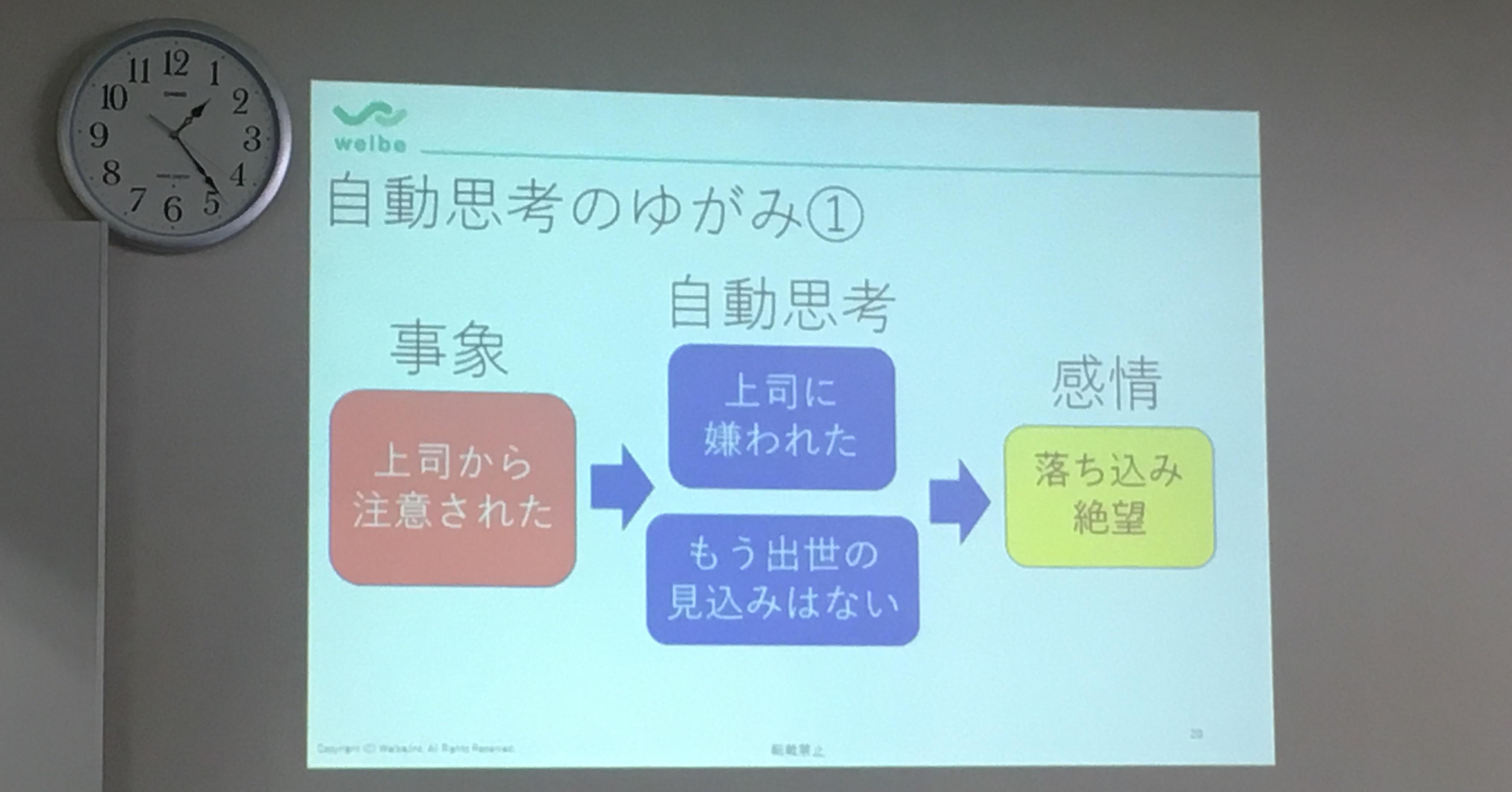 【渋谷】心理学講座の様子3