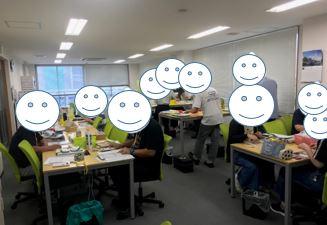 【川越第3】軽作業訓練の様子