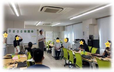【新越谷第2】OBOG交流会の様子
