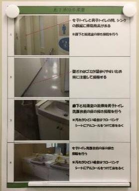 【本厚木第2】掃除マニュアル1