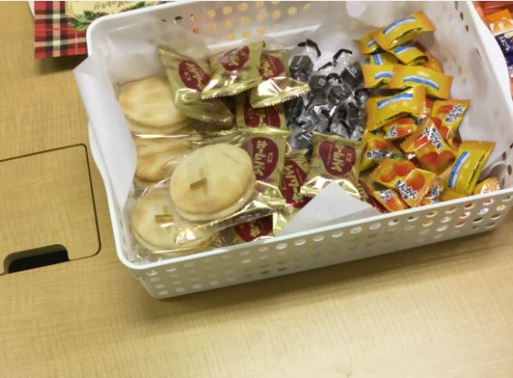 歓談・お菓子