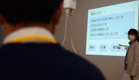 【松本】模擬入社式3