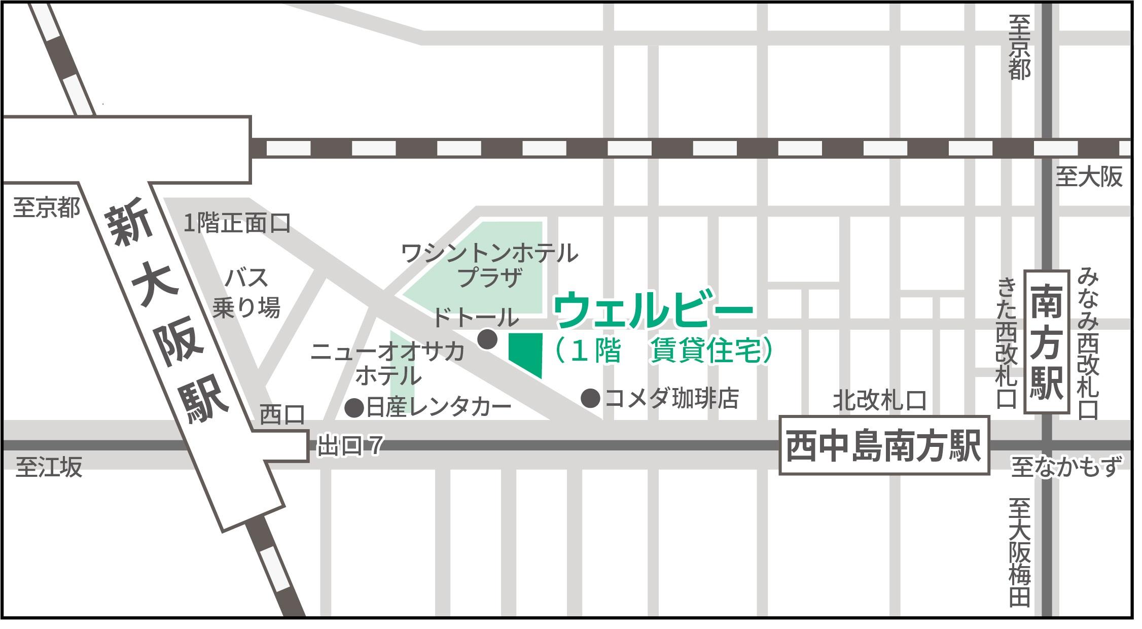 新大阪センターWord地図イメージ