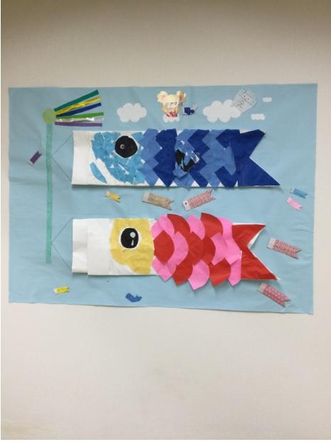 新大阪センター写真(鯉のぼり)