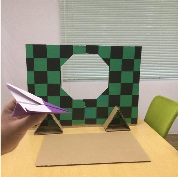 7@目標の緑色と黒色的の写真藤沢第2センター